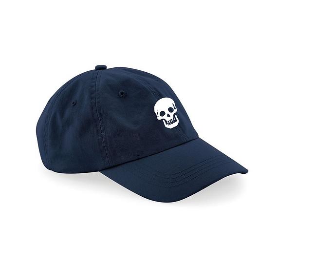Casquette Brodé Bleu Navy