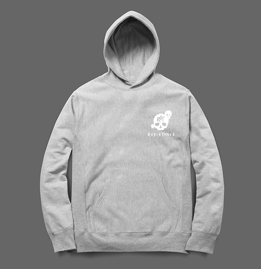 Hoodie Faucheuse Grey