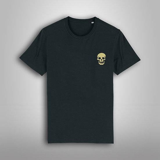 Tee Shirt Skull Gold