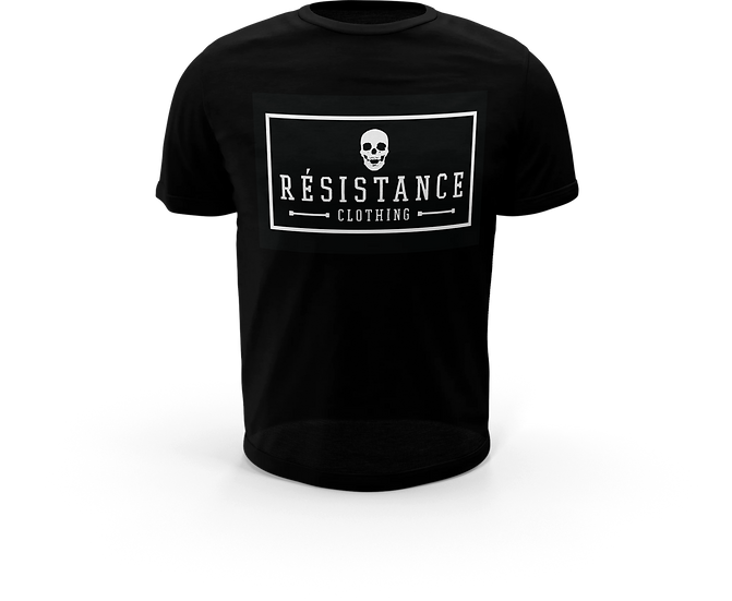 Tee-Shirt Résistance Patch Black