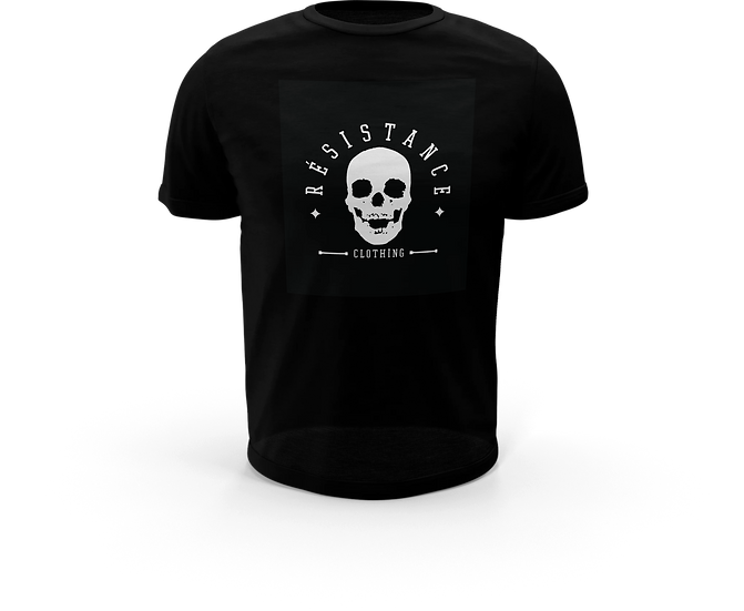 Tee-Shirt Résistance Skull Black