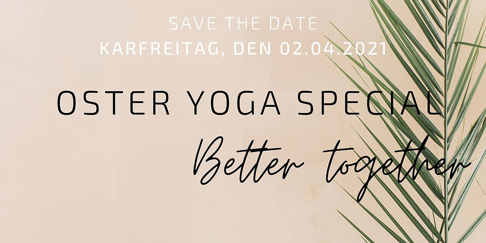 OSTER YOGA SPECIAL - better together