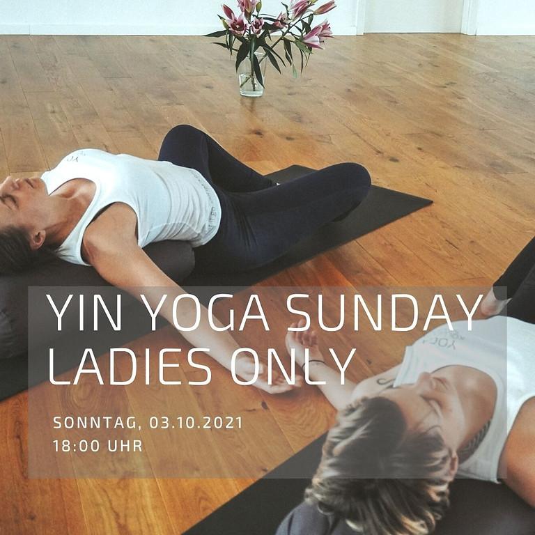YIN YOGA SUNDAY - WOMEN ONLY