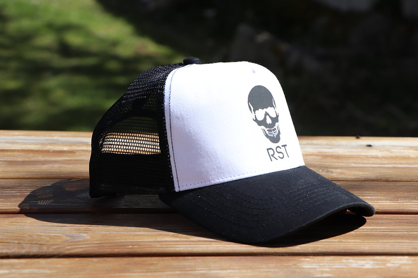 Casquette Trucker RST White and Black