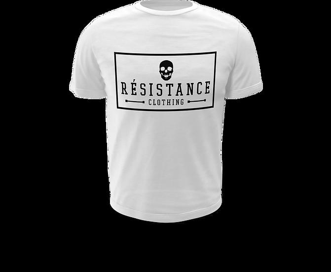 Tee-Shirt Résistance Patch White