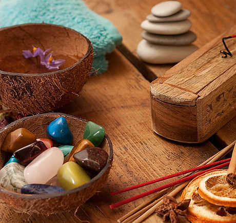 Semi precious stones and aromatic sticks set up._edited.jpg