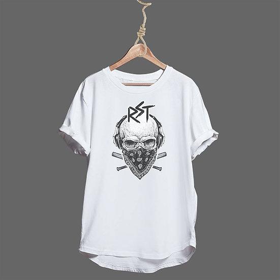 Tee Shirt RST Skull Scarf