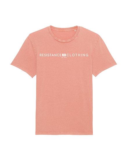 Tee-Shirt Vintage Orange