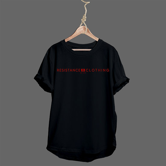 Tee Shirt Schoolboy Black and Red