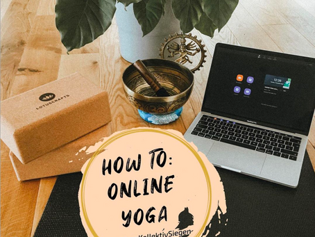 HOW to ONLINE YOGA