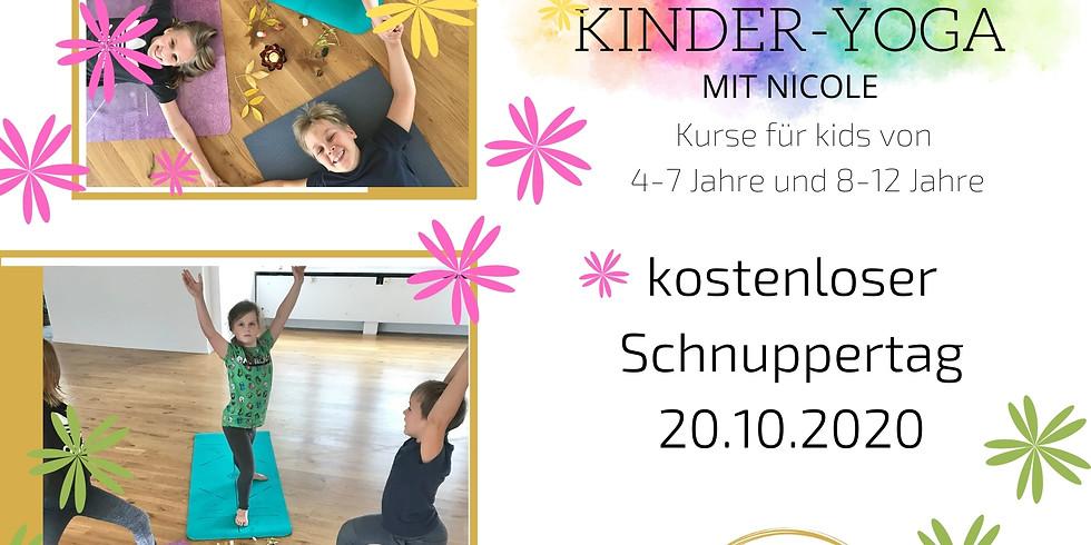 Kinder-Yoga Schnuppertag