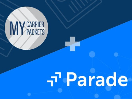 Parade and MyCarrierPackets Have Partnered to Empower Leading Freight Brokerages