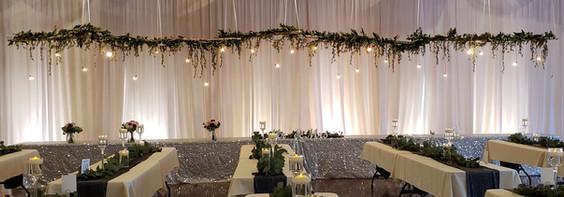 woodland receptions birch decor
