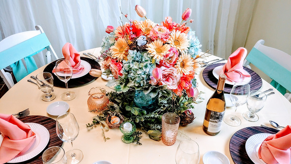 rental centerpiece rapid city wedding planning