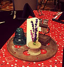 western themed centerpiece