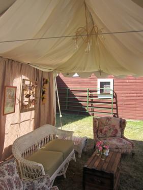 vintage lounge tent decor rapid city