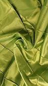 Lime Green Pintuck