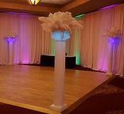 wedding columns rental deadwood