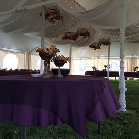 fall tent wedding rapid city