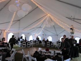 custom tent decor by table 4 decor
