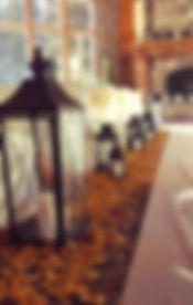 wedding ceremony decor spearfish
