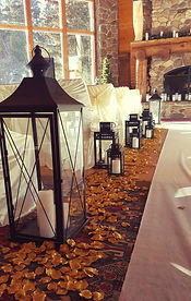 wedding ceremony decor spearfish