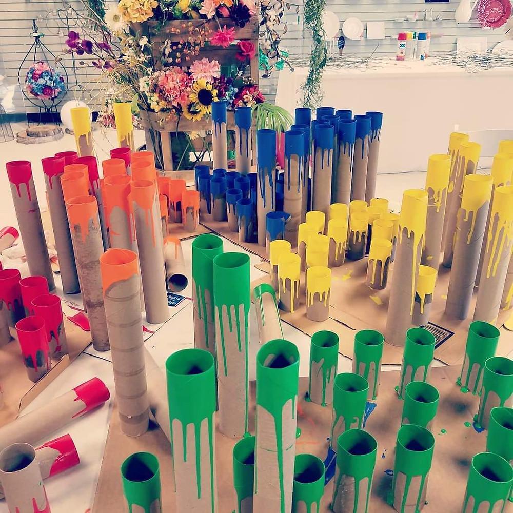 recycled centerpiece idea wedding planning rapid city