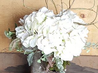 jenny crafts in hats: making birch bark centerpieces