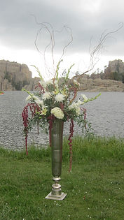 wedding ceremony decor sylvan lake