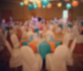 #orangeandturquoise wedding in #spearfis