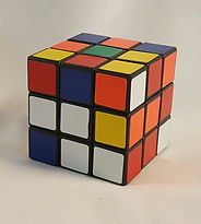 rubics cube centerpiece