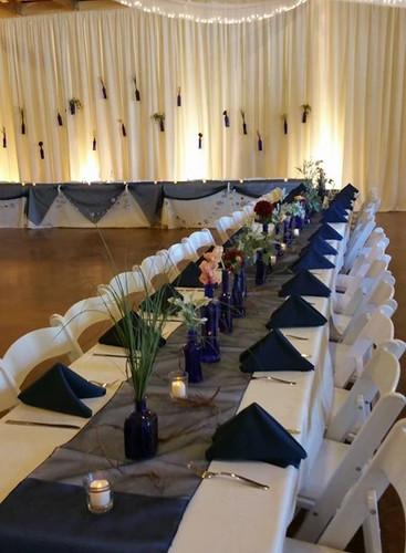 navy blue wedding south dakota