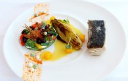 Bellevue Rheinhotel_Gourmetrestaurant_Black Cod & Wintersalat