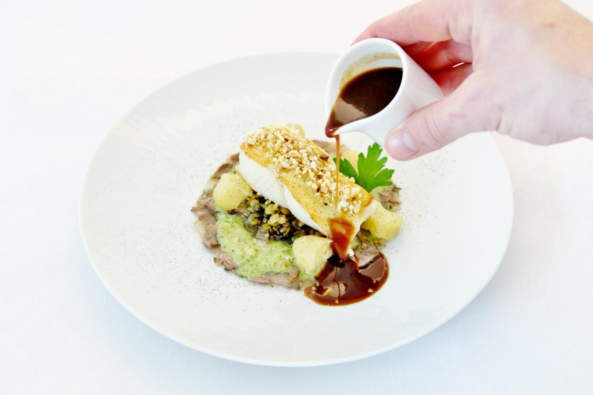 Wilder Steinbutt & La Ratte Kartoffeln - 1 - FB