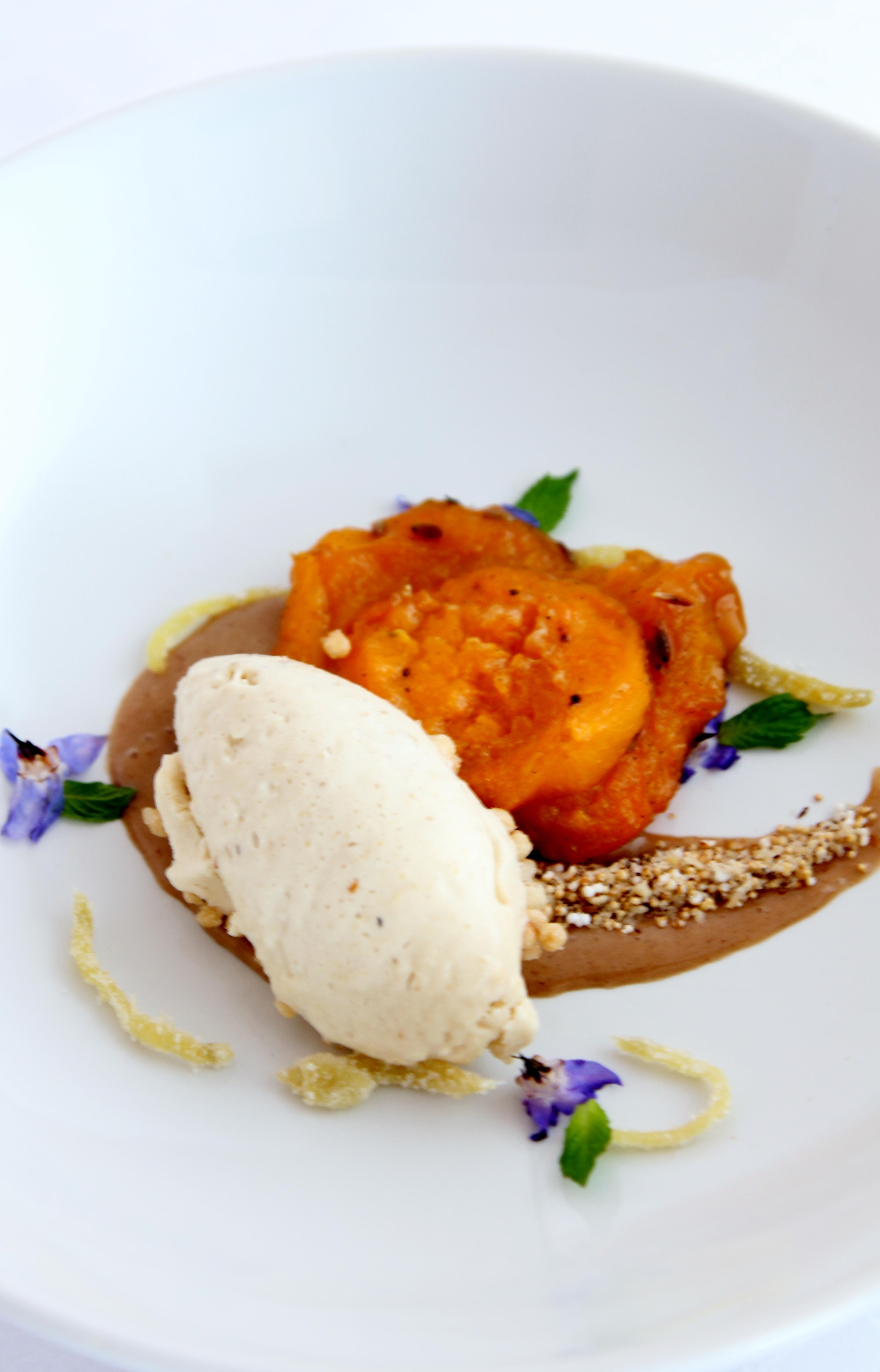 Bellevue Rheinhotel_Gourmetrestaurant_Aprikose & Ingwer