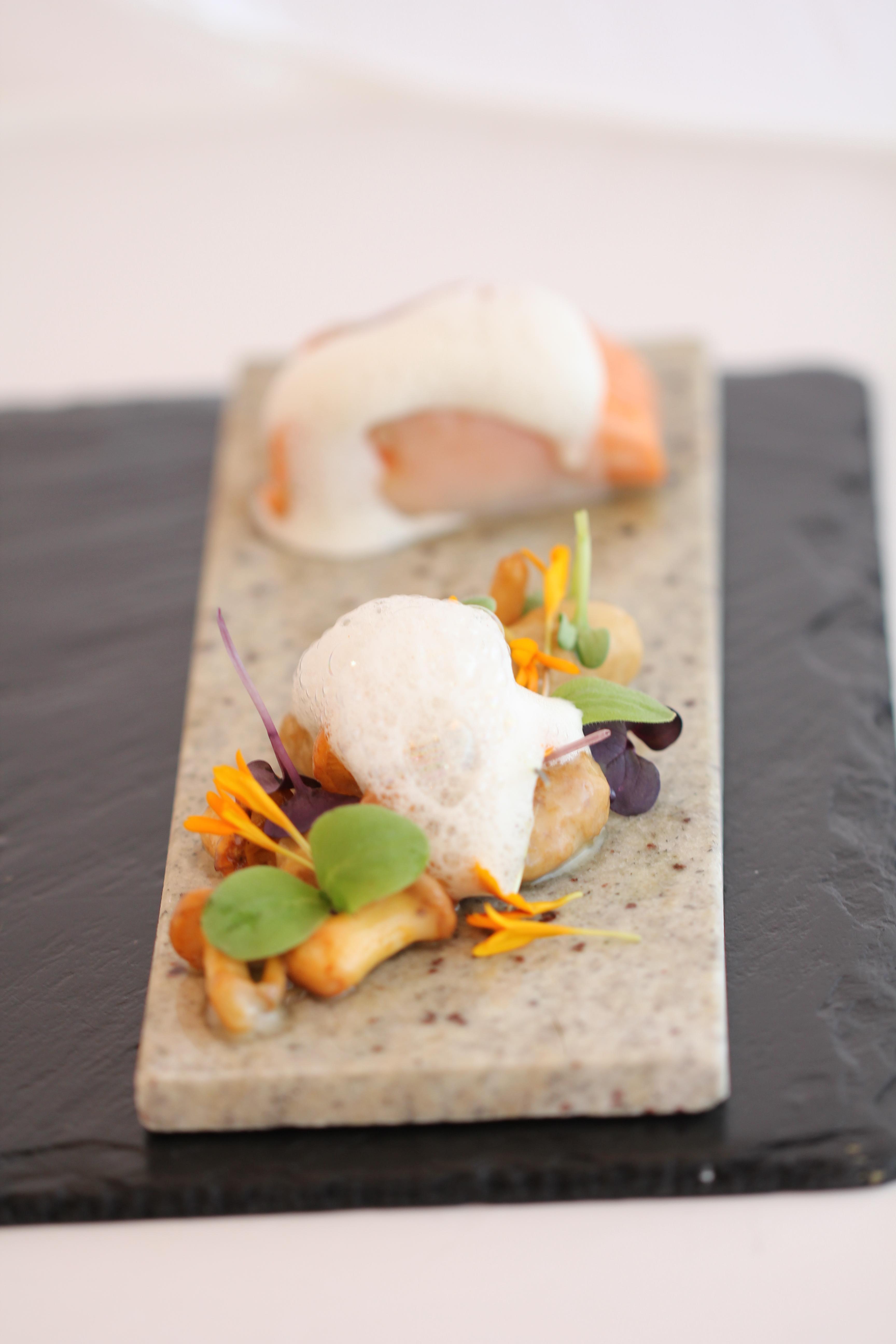 Bellevue Rheinhotel_Gourmetrestaurant_Forelle und Lardo