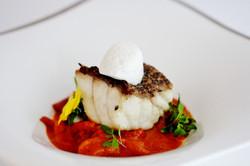 Bellevue Rheinhotel_Boppard_Gourmetrestaurant_Zackenbarsch und Kutteln