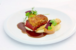 Bellevue Rheinhotel Gourmetrestaurant Le Chopin Breyer Reh & Hunsrücker Quitte