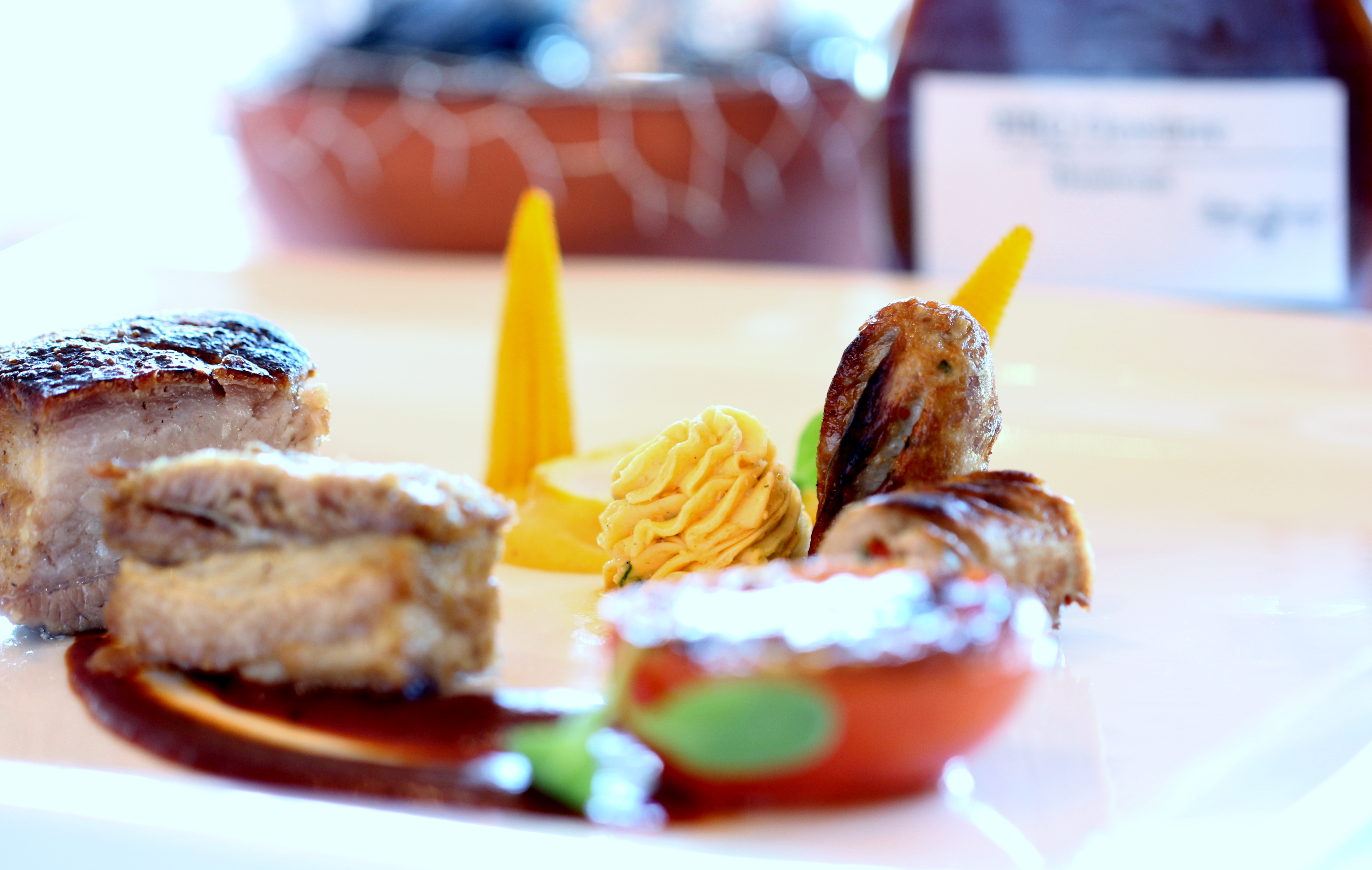 Bellevue Rheinhotel_Gourmetrestaurant_Iberico Schwein