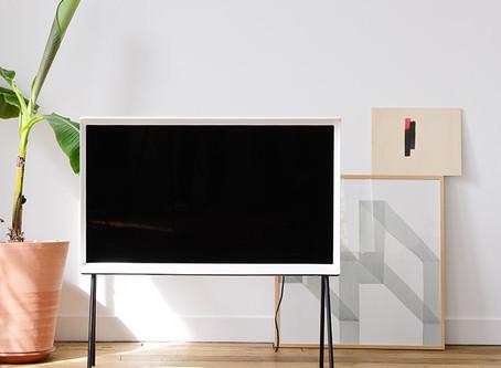 Lo último en televisiones de diseño: Serif TV 2016 diseñada por los Hermanos Bouroullec