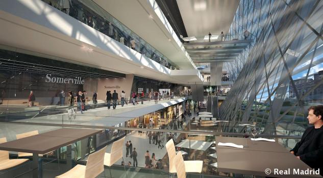 Diseño de Espacios Comerciales en Madrid Nuevo Santiago Bernabeu