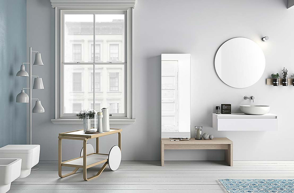 Cristina Beltrán Arquitectos Reformar Baño en Madrid Altamarea Bathroom Boutique Modo