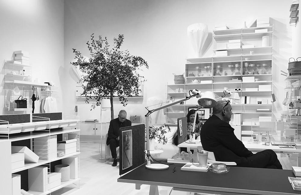 String Stand Stockholm Design Week 2017