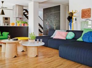 salón ideal para familias con niños