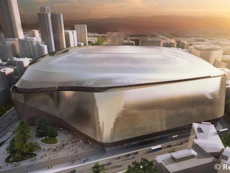 Diseño de Campos de Fútbol en Madrid: Así será el nuevo Estadio Santiago Bernabéu [video]