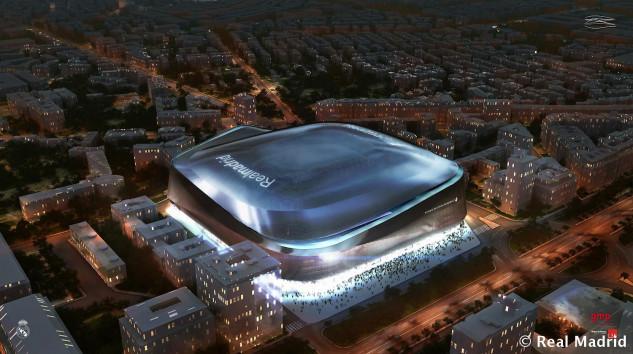 Diseño de Estadios de Fútbol en Madrid Nuevo Santiago Bernabeu