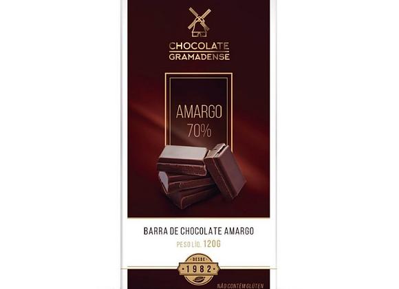 BARRA MEIO AMARGO 70% 120G