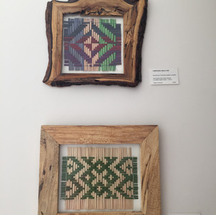 Hand Dyed & Woven Traditional  Cherokee Patterns