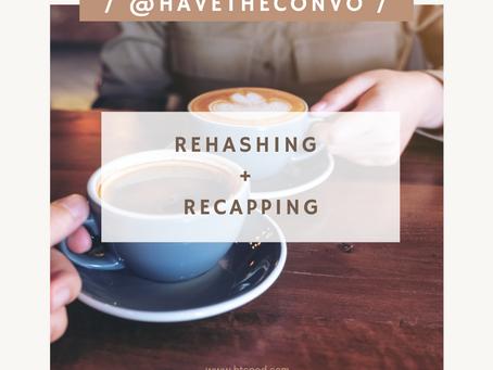 Rehashing + Recapping