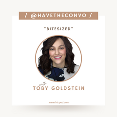 Bitesized with Toby Goldstein